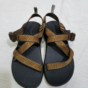 Chaco Boys Orange & Brown Z1 Classic SZ 5